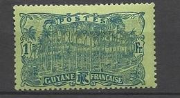 Guyane N° 87    Neuf * B/ TB .......   Soldé   à Moins De 20  % ! ! ! - Unused Stamps