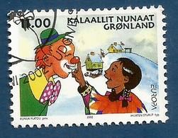 Dänemark-Grönland  2002   Mi.Nr. 385 , EUROPA CEPT - Zirkus - Gestempelt / Fine Used / (o) - 2002