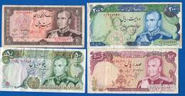 Iran    Billets  Dans  L'etat - Luxembourg