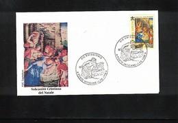 Vatican / Vatikan 1998 Michel 1262 Joint Issue With Croatia FDC - FDC