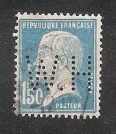 Perforé/perfin/lochung France No 181 H.W  Les Petits Fils De F. De Wendel (87) - Perfin