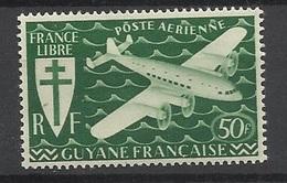 Guyane Poste Aériene N° 26     Neuf  * B/ TB .......   Soldé   à Moins De 20  % ! ! ! - Unused Stamps