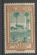 Guyane Taxe  N° 14      Neuf  * B/ TB .......   Soldé   à Moins De 20  % ! ! ! - Unused Stamps