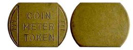 04400 GETTONE TOKEN JETON PARCHEGGIO PARKING COIN METER TOKEN - Estados Unidos