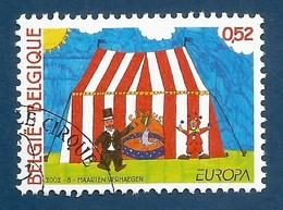 Belgien  2002   Mi.Nr. 3119 , EUROPA CEPT - Zirkus - Gestempelt / Fine Used / (o) - 2002