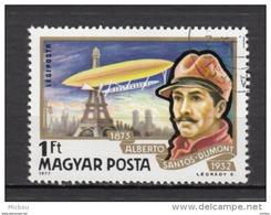 Hongrie, Hungary, Zeppelin, Ballon, Balloon, Tour Eiffel, Monument, Paris, Alberto Santos-dumont - Zeppelins