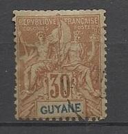 Guyane   N° 38  Oblittéré   B/ TB .......   Soldé   à Moins De 20  % ! ! ! - Used Stamps