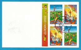 Aserbaidschan  2002   Mi.Nr. MH 513 / 514 D , EUROPA CEPT - Zirkus - Gestempelt / Fine Used / (o) - 2002