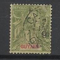 Guyane   N° 42  Oblittéré  Cayennne  B/ TB .......   Soldé   à Moins De 20  % ! ! ! - Used Stamps