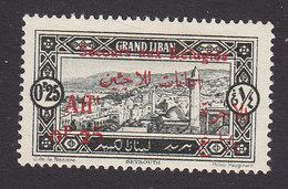 Lebanon, Scott #B1, Mint Hinged, Scenes Of Lebanon Surcharged, Issued 1926 - Great Lebanon (1924-1945)