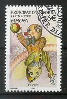Andorra / Französische Post  2002  Mi.Nr. 590 , EUROPA CEPT Zirkus - Gestempelt / Fine Used / (o) - 2002