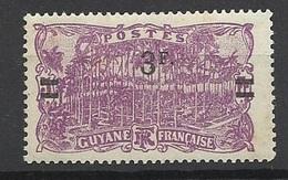 Guyane   Poste N° 105  Neuf  * *    B/ TB .......   Soldé   à Moins De 20  % ! ! ! - Unused Stamps