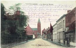 WEVELGHEM - La Rue De Menin - Feldpostkarte - Edit. R. Duthoo-Couckuyt - M. Marcovici - Gekleurd - Wevelgem
