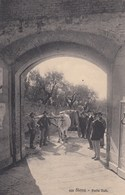 SIENA-PORTA TAFI-CARRO DI BUOI CON E PERSONE IN POSA-CARTOLINA NON VIAGGIATA- ANNO 1910-1920 - Siena