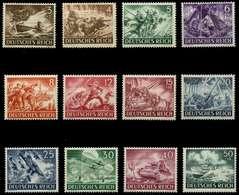3. REICH 1943 Nr 831-842 Postfrisch X6EFB3A - Allemagne