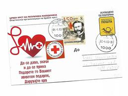 Macedonia Red Cross 2013 Jean Henri Dunant - Macedonia