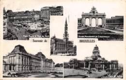 Souvenir De BRUXELLES - Panoramische Zichten, Meerdere Zichten