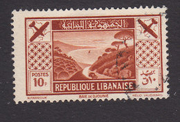Lebanon, Scott #C54, Used, Bay Of Jounie, Issued 1936 - Great Lebanon (1924-1945)