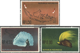 Indonesia 400-402 (complete Issue) Unmounted Mint / Never Hinged 1963 Inclusion Of West-Irian - Indonesia