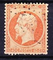 FRANCE NAPOLEON III 1862 YT N° 23 Obl. - 1862 Napoléon III