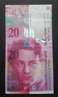 Switzerland 20 Francs Arthur Honegger - 20 Franchi Svizzera - Switzerland