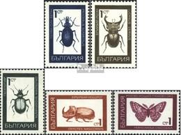 Bulgarie 1826-1830 (complète.Edition.) Oblitéré 1968 Insectes - Bulgaria