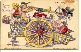 06000 Projet De Char De La Musique (Biasini) Pour Le Carnaval De NICE - Le Journal - Dessin AS - Carnaval