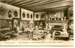 16110 LA ROCHEFOUCAULD - Le Grand Salon Du Château - Cliché Braun - Sépia Foncé - France