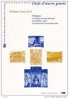 MEILLEURS VOEUX / CHEFS-D'OEUVRE GRAVES De 2013. (sans Timbre). Parfait état. DPO - 2010-....