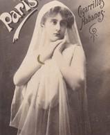 PARIS, CIGARRILLOS HABANOS. COLLECTIBLE TOBACCO CARDS CIRCA 1915s - BLEUP - Berühmtheiten