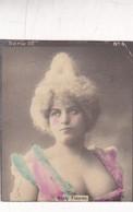 MEATY FLEURON. COLORISE. COLLECTIBLE TOBACCO CARDS CIRCA 1915s - BLEUP - Célébrités