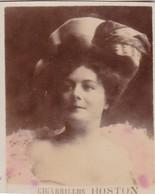 ARTISTE A IDENTIFIER. CIGARRILLOS BOSTON. COLORISE. COLLECTIBLE TOBACCO CARDS CIRCA 1915s - BLEUP - Célébrités