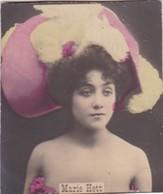 MARIE HETT. COLORISE. COLLECTIBLE TOBACCO CARDS CIRCA 1915s - BLEUP - Célébrités