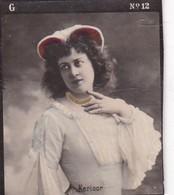 KERLOOR. COLORISE. COLLECTIBLE TOBACCO CARDS CIRCA 1915s - BLEUP - Célébrités