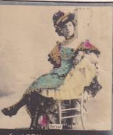 DERVAL. COLORISE. COLLECTIBLE TOBACCO CARDS CIRCA 1915s - BLEUP - Célébrités