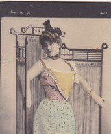 ALICE NIXON. COLORISE. COLLECTIBLE TOBACCO CARDS CIRCA 1915s - BLEUP - Célébrités