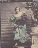 DELIA FOX. COLORISE. COLLECTIBLE TOBACCO CARDS CIRCA 1915s - BLEUP - Célébrités