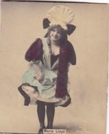 MARIE LLOYD. COLORISE. COLLECTIBLE TOBACCO CARDS CIRCA 1915s - BLEUP - Célébrités