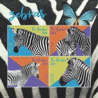 Gambia  2018  Fauna Zebras And Butterflies   I201901 - Gambia (1965-...)