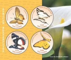Gambia  2018    Fauna  African Butterflies  I201901 - Gambia (1965-...)