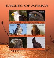 Gambia  2018    Fauna   Eagles Of Africa    I201901 - Gambia (1965-...)