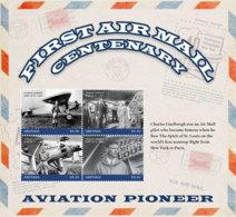 Grenada   2018    First Air Mail Centenary  ,airplane   I201901 - Grenada (1974-...)