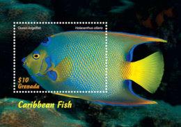 Grenada   2018  Fauna   Caribbean  Fish  I201901 - Grenada (1974-...)