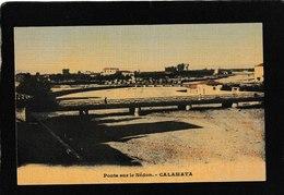 Calamata,Greece-Ponte Sur Le Nedon 1910s - Antique Postcard - Grecia