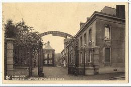 PATURAGES - Grand'Rue - Institut National Des Mines 1939 - Colfontaine