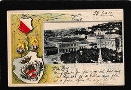 Trieste-Stazione Meridionale Sudbahnhof  1904 - Antique Postcard - Turchia
