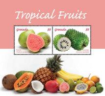 Grenada   2018   Tropical  Fruits  I201901 - Grenada (1974-...)