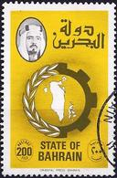 Bahrain 1977 - Mi 247 - YT 240 ( Crown And Map Of The Country ) - Bahreïn (1965-...)