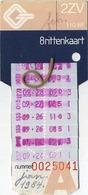 2  OLD TRAM Ticket   :Tramways -tramwegen De Classe:carte De  Voyages-reizen ( See Scans) - Titres De Transport