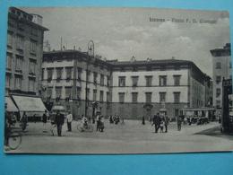 Italie - Livorno - Piazza F. D. Guerrazzi - 1917 - Livorno